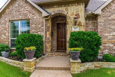 Lewisville Single Family Home For Sale: 405 Glastonburg Lane