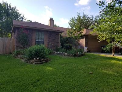 Denton Single Family Home For Sale: 2530 Craig Lane