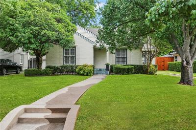 University Park Single Family Home For Sale: 4104 Greenbrier Drive