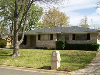 Sherman Single Family Home For Sale: 2817 Devonshire Drive