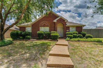 Rowlett Single Family Home Active Option Contract: 7406 San Carlos Drive