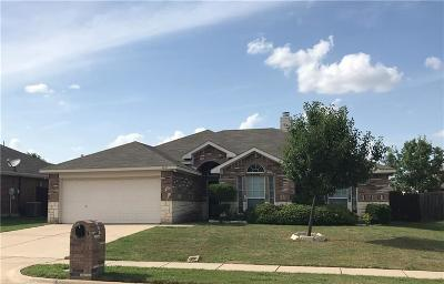 Mansfield TX Single Family Home Active Option Contract: $215,000