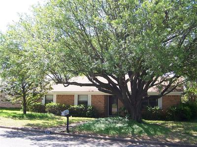 Sherman Single Family Home For Sale: 906 Boone Drive
