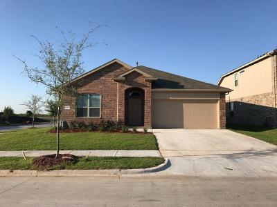 Denton Single Family Home Active Option Contract: 201 Red Fox Lane