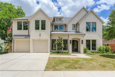 Dallas Single Family Home For Sale: 8514 Chadbourne Road