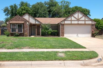 Euless Single Family Home Active Option Contract: 509 Tarragon Lane