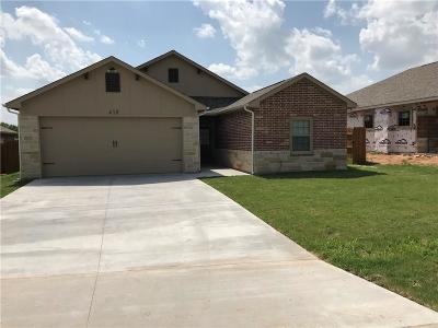 Hico Single Family Home For Sale: 410 Poplar