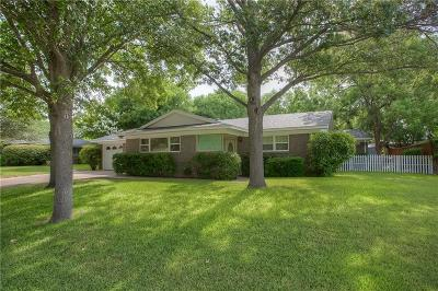 Benbrook Single Family Home Active Option Contract: 3841 Westerly Road