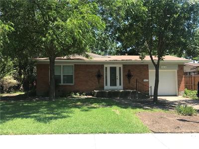 Mesquite Single Family Home For Sale: 1812 Belmont Street