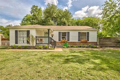 Dallas Single Family Home Active Option Contract: 2111 Norwood Drive