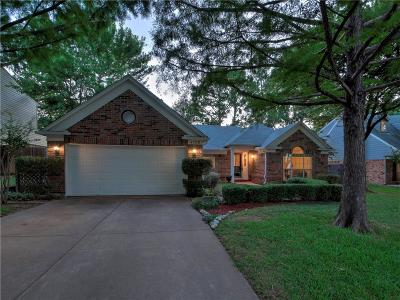 Grapevine Single Family Home Active Option Contract: 4328 Bradford Drive