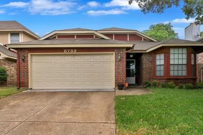 Fort Worth Single Family Home For Sale: 8733 Brushy Creek Trail