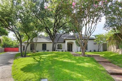Dallas Single Family Home For Sale: 6502 Covecreek Place
