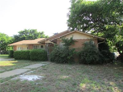 Stephenville TX Single Family Home Active Contingent: $122,000