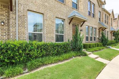 Irving Townhouse For Sale: 516 Reale Drive