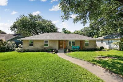 Dallas Single Family Home For Sale: 9614 Buxhill Drive