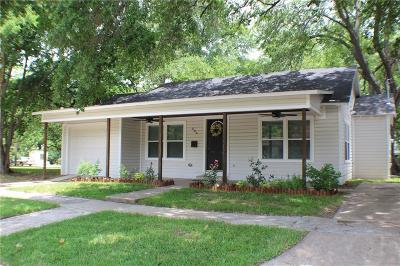 Terrell Single Family Home Active Option Contract: 806 N Frances Street
