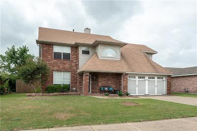 Rowlett Single Family Home For Sale: 8014 Straits Drive