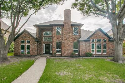 Plano Single Family Home Active Option Contract: 2624 Courtside Lane