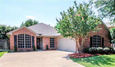 Keller Single Family Home Active Option Contract: 1715 Chatham Lane
