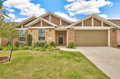 Aubrey Single Family Home For Sale: 1808 Settlement Way