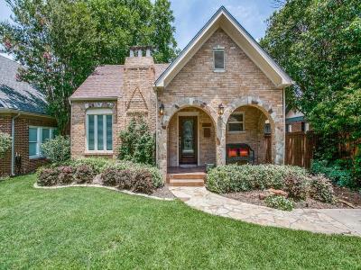 Dallas Single Family Home For Sale: 5743 Marquita Avenue