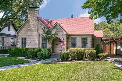 Dallas Single Family Home For Sale: 919 Stewart Drive