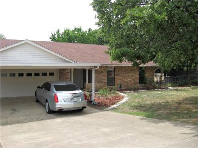 Azle Single Family Home Active Option Contract: 801 Red Bud Drive