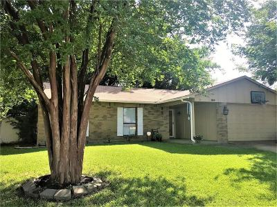 Forney Single Family Home Active Option Contract: 519 Forestwood Drive