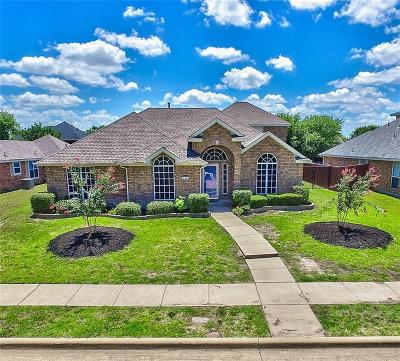 Rowlett Single Family Home Active Option Contract: 10201 Evergreen Drive