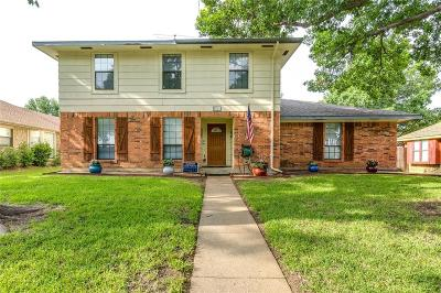 Single Family Home For Sale: 1846 Chisolm Trail