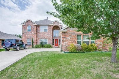 Sachse Single Family Home Active Option Contract: 6818 Falcon Crest Lane