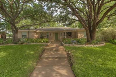 Benbrook Single Family Home Active Option Contract: 3904 Dawn Drive
