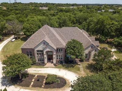 Flower Mound Single Family Home For Sale: 7080 Hawk Road