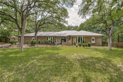 Azle Single Family Home Active Option Contract: 101 Twin Oaks Court
