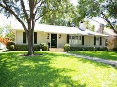 University Park Single Family Home For Sale: 3101 Amherst Avenue