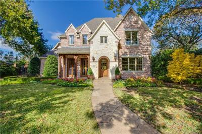 Dallas Single Family Home For Sale: 5843 Meaders Lane