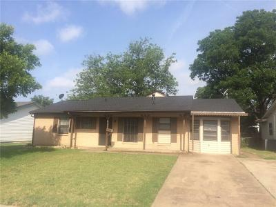 Irving Single Family Home For Sale: 2813 Douglas Avenue