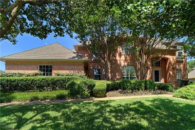 Southlake Single Family Home Active Option Contract: 1320 Bent Trail Circle