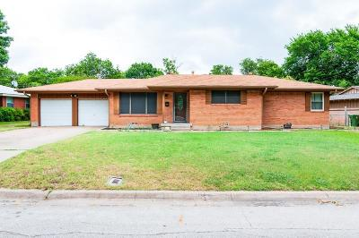 Richland Hills Single Family Home For Sale: 3540 Granada Drive