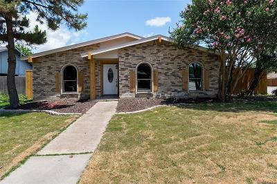 Carrollton Single Family Home Active Option Contract: 3539 Whitney Drive