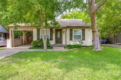 Dallas Single Family Home For Sale: 4747 Elsby Avenue