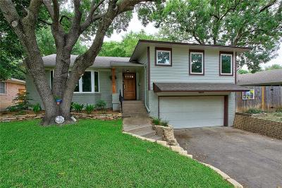 Richardson Single Family Home Active Contingent: 713 S Weatherred Drive S