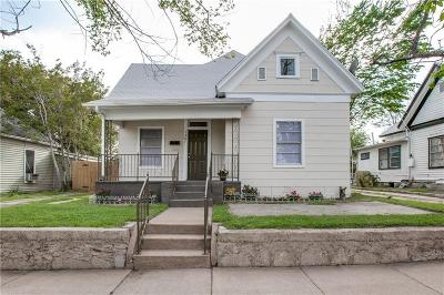 North Fort Worth Single Family Home Active Contingent: 1307 N Calhoun Street
