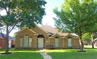 Frisco Single Family Home Active Option Contract: 11502 Amber Valley Drive