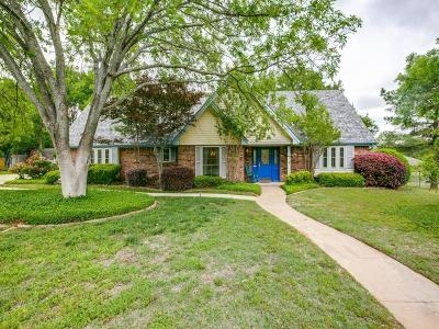 Southlake Single Family Home Active Option Contract: 1207 Scenic Drive