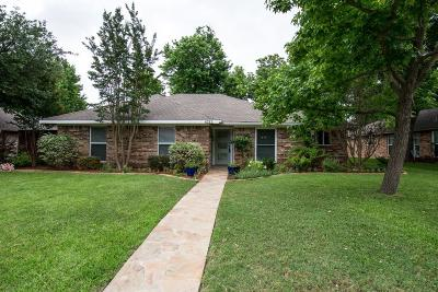 Plano Single Family Home Active Option Contract: 4212 Midnight Drive