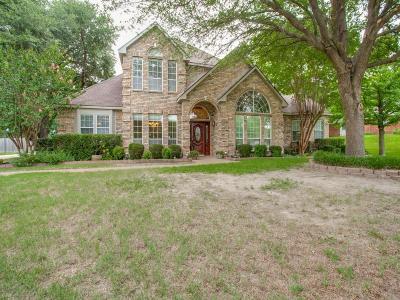 Rowlett Single Family Home Active Option Contract: 1906 Palomino Drive