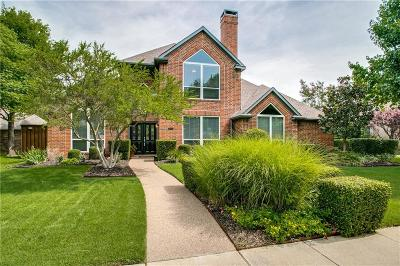 Coppell Single Family Home Active Option Contract: 346 Pecan Hollow Drive