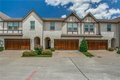 Dallas Townhouse For Sale: 8715 Tudor Place